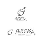K_onjiさんのアクセサリーブランド 「PERTIKA mignon」の ロゴへの提案