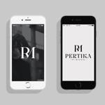 haru_Designさんのアクセサリーブランド 「PERTIKA mignon」の ロゴへの提案