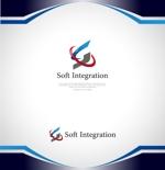 NJONESさんのソフト・インテグレーション社 ロゴ作成依頼への提案