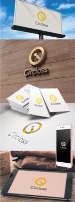 katsu31さんの株式会社Circloss(読み:サークロス)のロゴ作成依頼:コンサルティンググループ兼人材紹介会社への提案