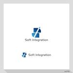 cc110さんのソフト・インテグレーション社 ロゴ作成依頼への提案