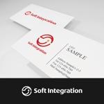smartdesignさんのソフト・インテグレーション社 ロゴ作成依頼への提案