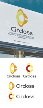 cozzyさんの株式会社Circloss(読み:サークロス)のロゴ作成依頼:コンサルティンググループ兼人材紹介会社への提案