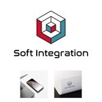 tsukasa110さんのソフト・インテグレーション社 ロゴ作成依頼への提案