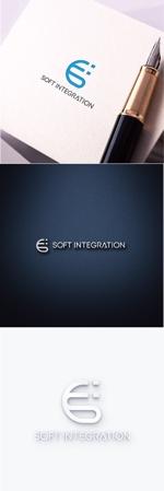 chapterzenさんのソフト・インテグレーション社 ロゴ作成依頼への提案