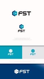 "mahou-photさんの弊社略称""FST""との組み合わせで会社ロゴを作成したい。への提案"