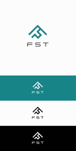 """designdesignさんの弊社略称""""FST""""との組み合わせで会社ロゴを作成したい。への提案"""