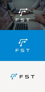 """tanaka10さんの弊社略称""""FST""""との組み合わせで会社ロゴを作成したい。への提案"""