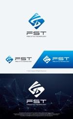 """take5-designさんの弊社略称""""FST""""との組み合わせで会社ロゴを作成したい。への提案"""