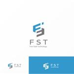 """Jellyさんの弊社略称""""FST""""との組み合わせで会社ロゴを作成したい。への提案"""