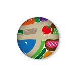 """buffalo66さんの千葉県の""""食""""を元気に! 『ペリエの千産千消フェア』の応援缶バッチ「千バッチ」のデザイン募集への提案"""