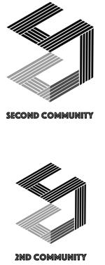 芸術プラットフォームコミュニティのロゴデザインへの提案
