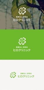tanaka10さんの小児科・耳鼻咽喉科・内科クリニック:ロゴのモチーフは「四つ葉のクローバー」への提案