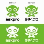 agnesさんの新サービス「あすくプロ」のロゴ作成(プロファウンド株式会社(R2/1/14設立))への提案