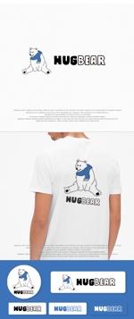 アウトドアブランド「HugBear」のロゴデザインへの提案