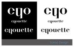sorao-1さんのスキンケア雑貨「chouette(シュエット)」のブランドロゴの募集への提案