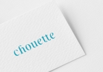 breqtheさんのスキンケア雑貨「chouette(シュエット)」のブランドロゴの募集への提案