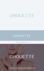 take5-designさんのスキンケア雑貨「chouette(シュエット)」のブランドロゴの募集への提案