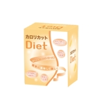 mafutaさんの女性向けダイエット補助食品(カット・燃焼系)顆粒タイプのパッケージデザインへの提案