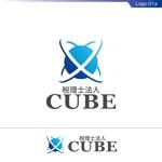 fs8156さんの税理士法人CUBE のロゴ作成への提案