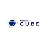 alne-catさんの税理士法人CUBE のロゴ作成への提案