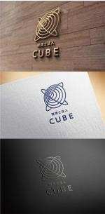 ainoginさんの税理士法人CUBE のロゴ作成への提案