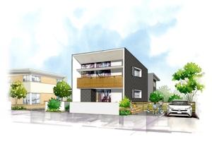maejima-persさんの新築住宅完成に伴う内見会チラシの作成依頼への提案
