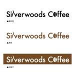 自家焙煎珈琲店Silverwoods Coffeeロゴ制作依頼への提案