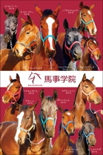 競走馬たちのクリアーファイルのデザイン制作への提案