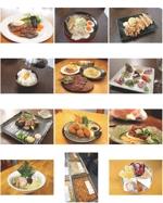 天ぷらコース料理の写真撮影・画像編集(WEBサイト向け)への提案