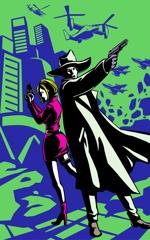miomiopom_1008さんのスパイ小説【ジャマイカよ、ありがとう】電子書籍の表紙イラスト上下巻2枚への提案