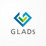 siraphさんのITコンサルティング会社「株式会社GLADs」のロゴへの提案