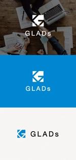 tanaka10さんのITコンサルティング会社「株式会社GLADs」のロゴへの提案