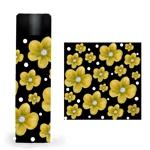 40代~60代女性向けの「ミニサイズステンレスボトル」のお花のデザイン作成依頼への提案