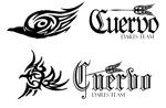 daradarakumaさんの「Darts Team 『Cuervo』」のロゴ作成への提案