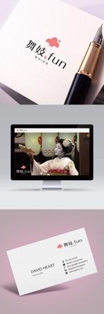 【京都・舞妓が好きな方必見!】舞妓との交流体験サービス WEBサイトロゴ作成への提案
