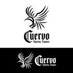 nabeさんの「Darts Team 『Cuervo』」のロゴ作成への提案