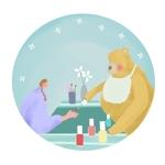 熊のキャラクターデザインへの提案