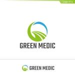 fs8156さんのゴルフ場業界向けコンサルティング会社「グリーンメディック株式会社」のロゴへの提案