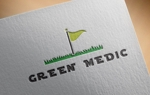 kndworking_2016さんのゴルフ場業界向けコンサルティング会社「グリーンメディック株式会社」のロゴへの提案