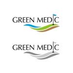 creative_house_GRAMさんのゴルフ場業界向けコンサルティング会社「グリーンメディック株式会社」のロゴへの提案
