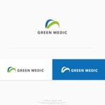 conii88さんのゴルフ場業界向けコンサルティング会社「グリーンメディック株式会社」のロゴへの提案