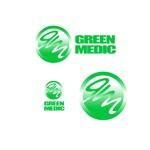 ryokuenさんのゴルフ場業界向けコンサルティング会社「グリーンメディック株式会社」のロゴへの提案