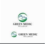 agnesさんのゴルフ場業界向けコンサルティング会社「グリーンメディック株式会社」のロゴへの提案