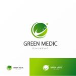 Jellyさんのゴルフ場業界向けコンサルティング会社「グリーンメディック株式会社」のロゴへの提案