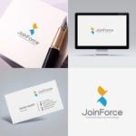 IT企業の「JoinForce」のロゴへの提案