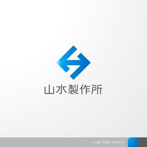 sa_akutsuさんの標識・サイン看板製作会社「株式会社 山水製作所」のロゴデザインへの提案