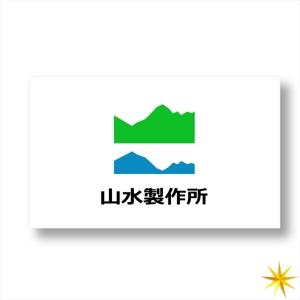 shyoさんの標識・サイン看板製作会社「株式会社 山水製作所」のロゴデザインへの提案