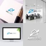 新築住宅会社の新ブランド「Air Logic」のロゴ制作のお願いへの提案