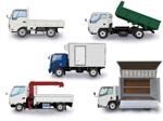 自動車(トラック)の形状別イラストへの提案
